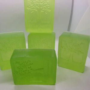 Lemongrass homemade soap