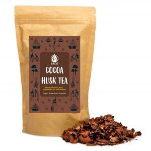 saco cocoa husk tea