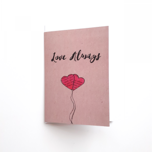 Love Always Greeting Card by Stacey-Ann Cole