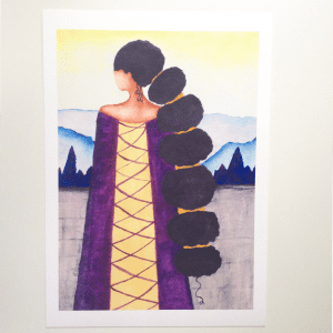 'Queen' Art Print by Stacey-Ann Cole