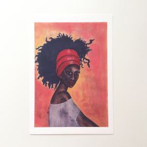 'Worthy' Art Print by Stacey-Ann Cole
