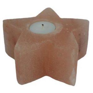 Salt Star Tealight Holder