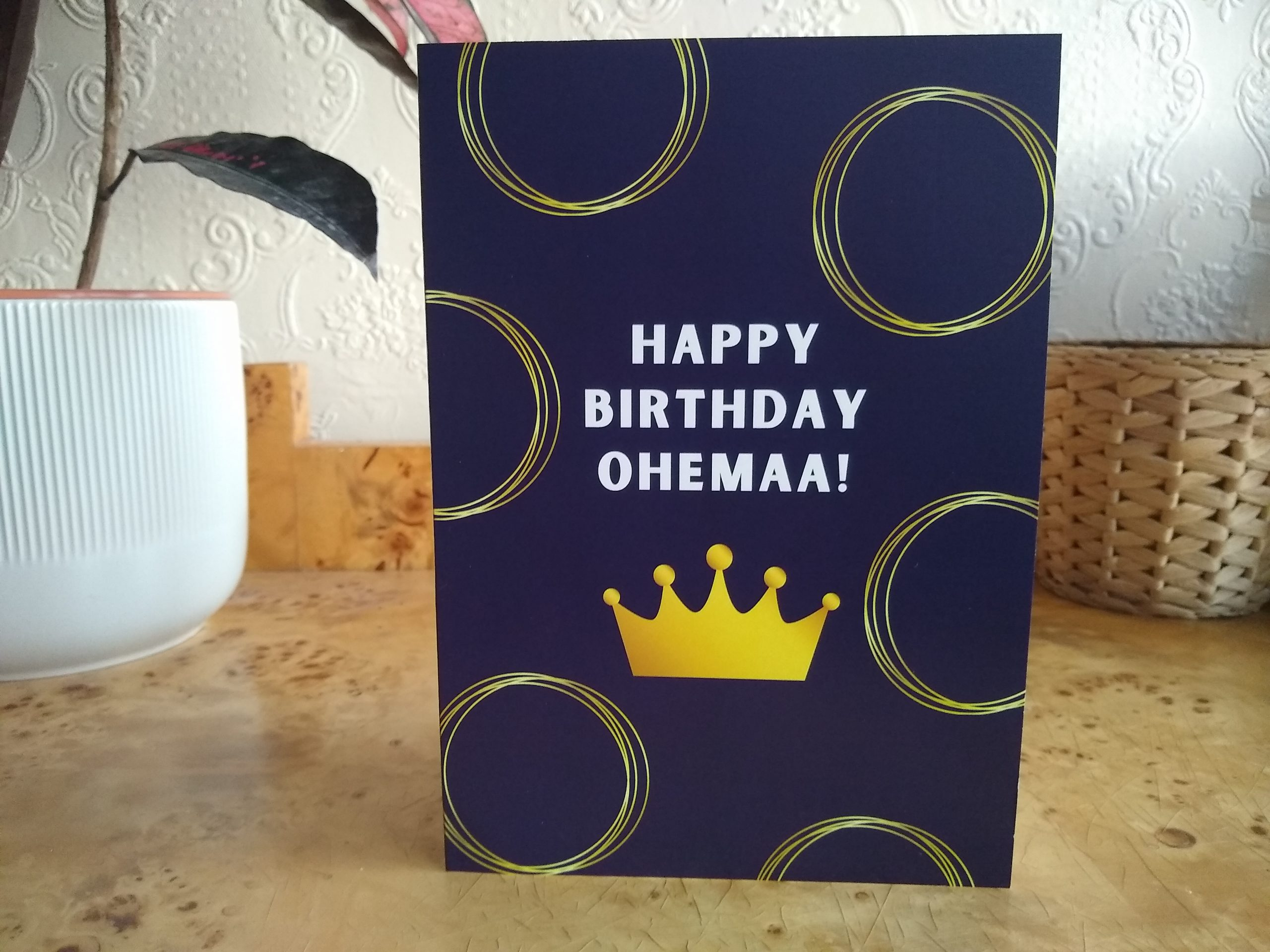 Happy Birthday Ohemaa