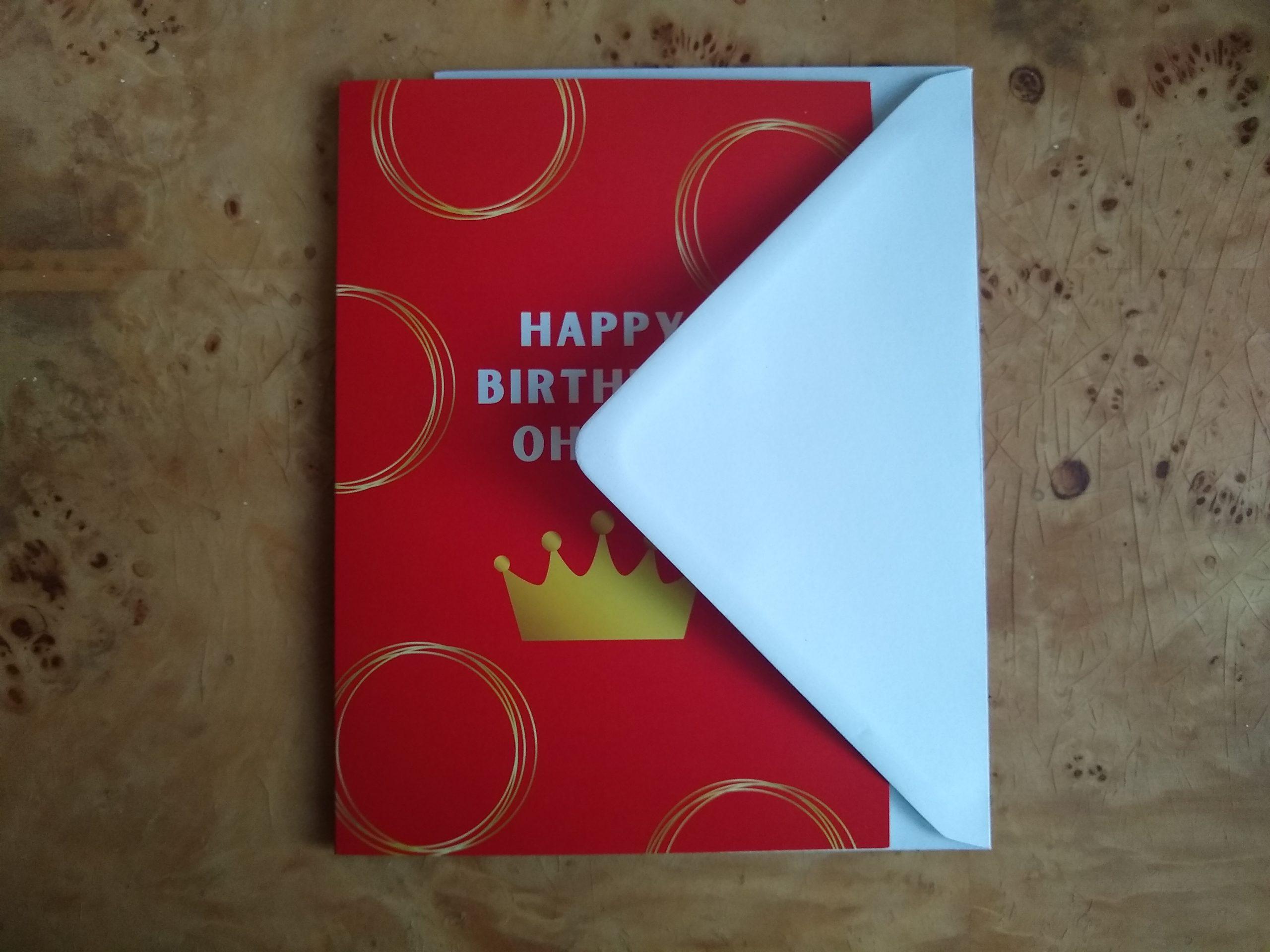 Happy Birthday Ohene