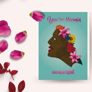 Bloomin wonderful card