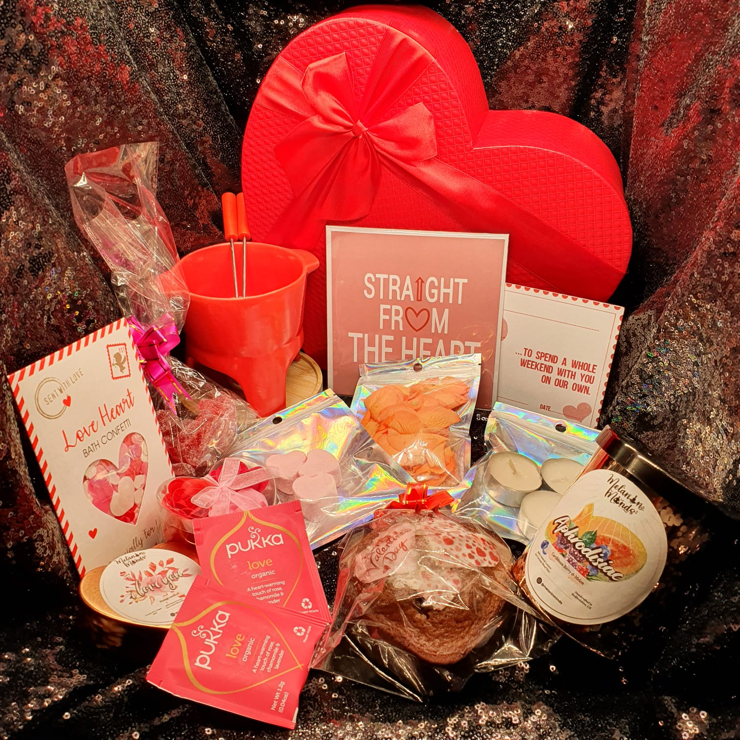 valentine's day gifts, valentines gift box, gifts for her, black-owned business