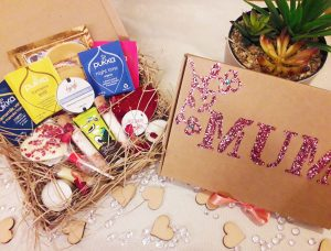 mother's day hamper, mothers day gifts by black-owned business