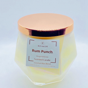 Rum Punch Scented Candle (Net Weight: 350g)