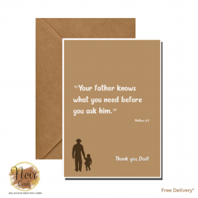 Father's Day Card – Thank You, Dad! #07