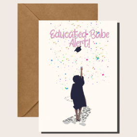 Educated Babe Alert – Graduation Cards