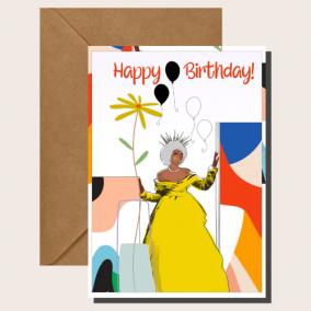 Birthday Nana – Mature Women Birthday Card