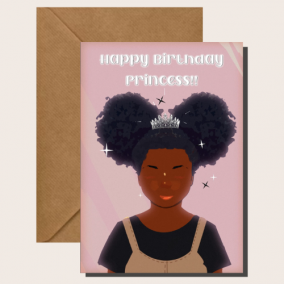 Birthday Buns – Little Girl Birthday Card