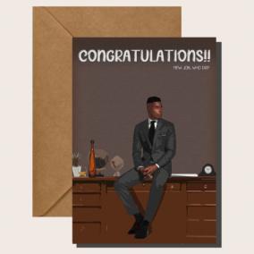 Boss Man – New Job Card
