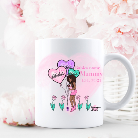 1st Mother's Day Mug Personalised