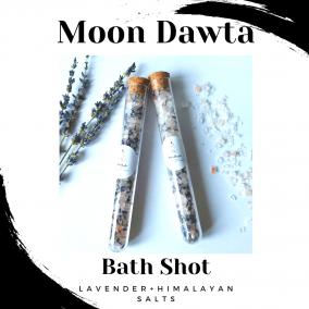 Lavender + Himalayan Salts Bath Shot