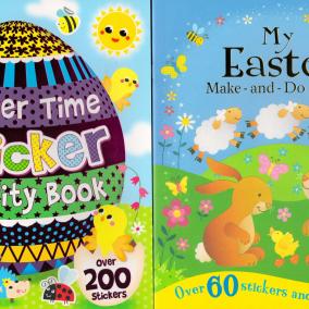 Easter Activity Books for Children – 2 book set