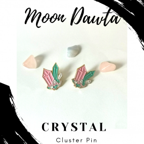 Crystal Cluster Pin
