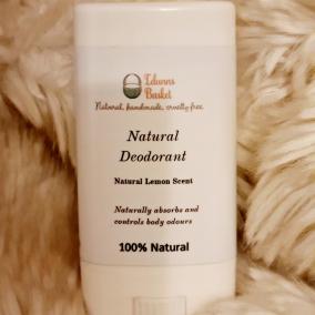 Natural Deodorant stick- lemon scented