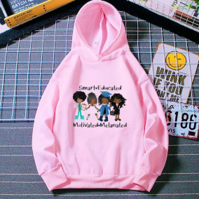 Smart & Educated Young Black Girl Hoodie
