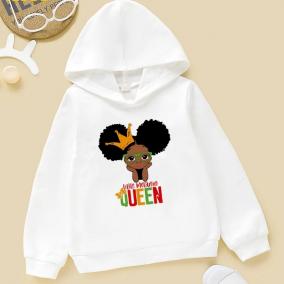 Little Melanin Queen Hoodie