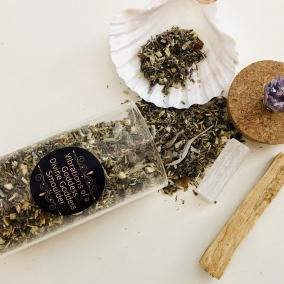 Divine Goddess Ultimate Cleansing Smoulder Set – with Relaxation Sage Natural Incense Blend