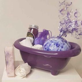 24 Soap Flower Roses Heart Box (3)