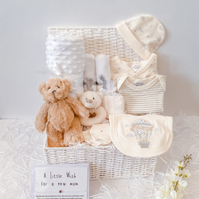 Welcome to the World Little One Baby Bear Clothing Gift Hamper