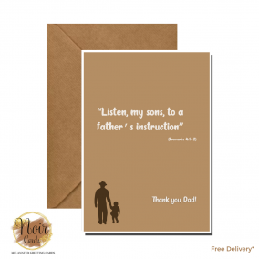 Father's Day Card – Thank You, Dad! #04