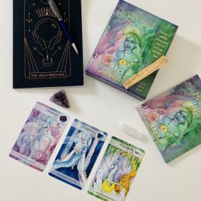 The Crystal Power Tarot Set