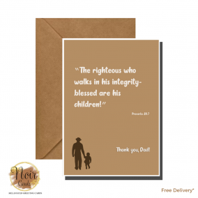 Father's Day Card – Thank You, Dad! #03