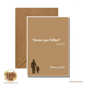 Father's Day Card – Thank You, Dad! #02