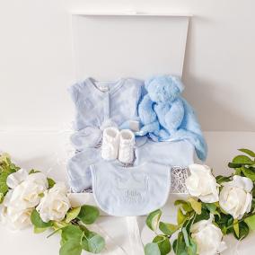 Luxury Prince Baby Boy Gift Box