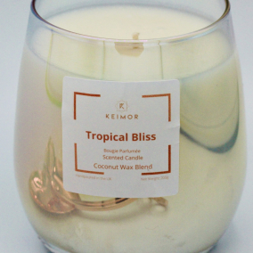 Tropical Bliss Scented Candle