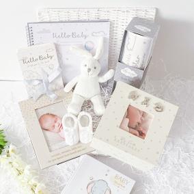 Precious Memories Baby Gift Hamper Basket
