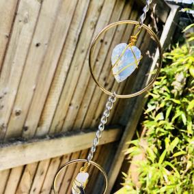 Crystal Heart Window / Wall Hangs