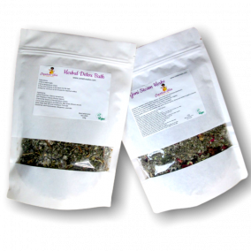 Yoni Steam Herbs and Herbal Detox Bath Duo