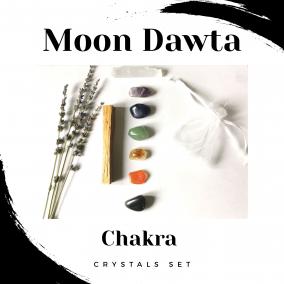 Chakra Crystals Set
