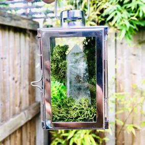 Crystal Terrarium – Manifestation Garden