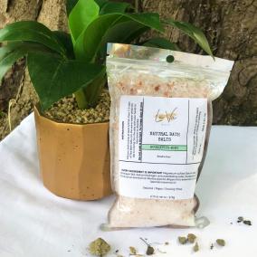 Organic Bath Salts – Eucalyptus Mint