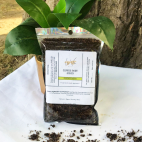 Body Scrub Organic Coffee- Coconut Latte