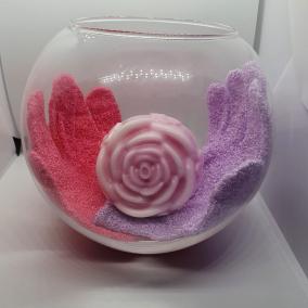 Natural Homemade Rose Soap