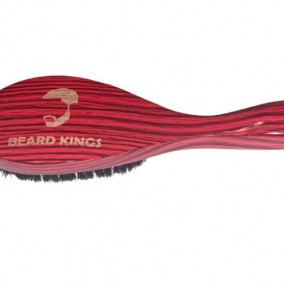 Handle Boar Bristle Wave Brush
