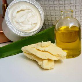 Lemongrass scented Shea Body Butter Soufflé