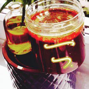 Turmeric & Cinnamon Brown Sugar Scrub