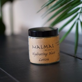 Hydrating hair lotion
