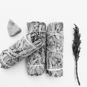 BTMR ZenDen | 10cm White Sage Combo Herb Smudge Sticks | Save 10% with 2 or more