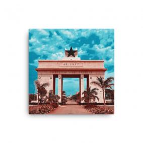 "Photo Print Canvas – ""Nkrumah's Legacy"""