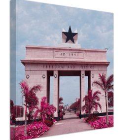 Nkrumah's Legacy Pink - Side