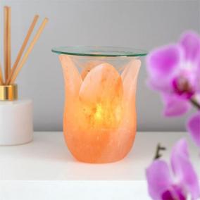BTMR ZenDen | Pink Himalayan Salt Tulip Oil Burner