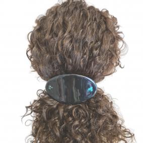Black Hair Clip French Barrette